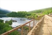 Мост через речку Тында
