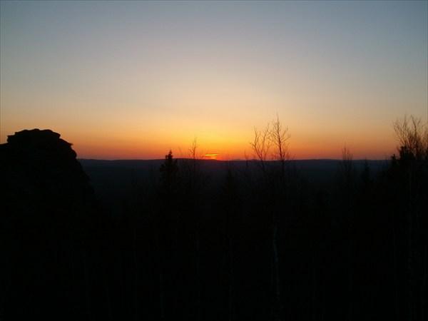 Закат с вершины