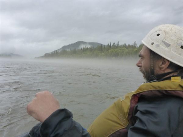 Продолжаем туманный сплав