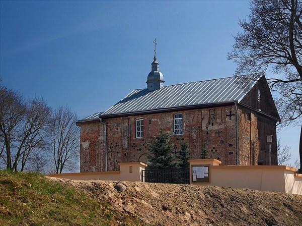 на фото: Борисоглебская церковь