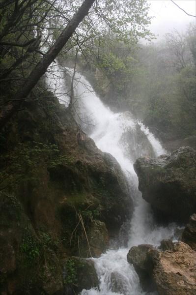 Водопад на Красной